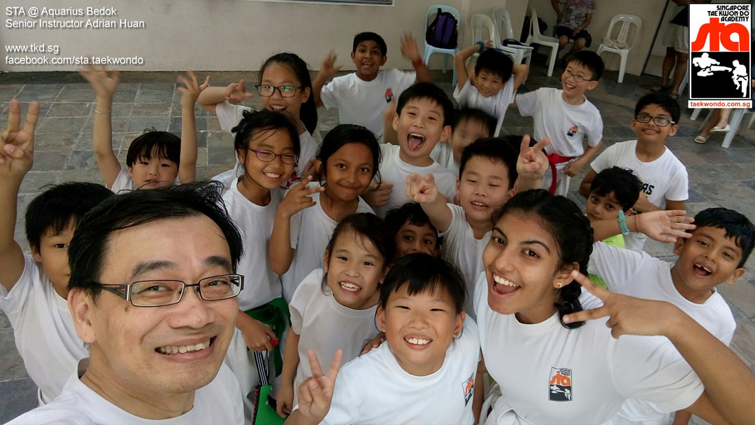 Yishun Northpoint City Central Kids Adults Children Class STA Adrian Huan Singapore Taekwondo Academy TKD