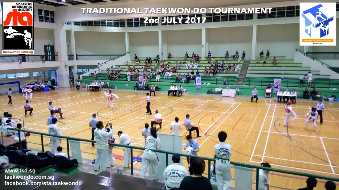 Traditional Taekwon-do Tournament 2nd July 2017, Free Sparring Adults Category