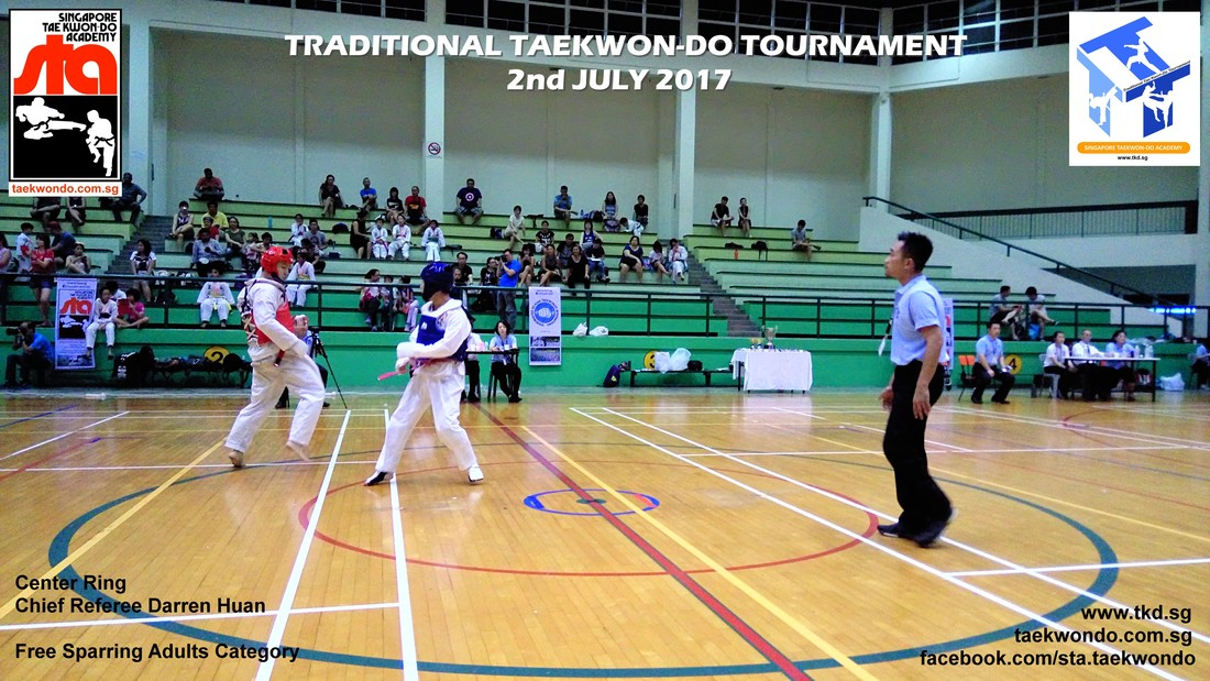 Chief Referee Darren Huan, Traditional Taekwon-do Tournament 2017