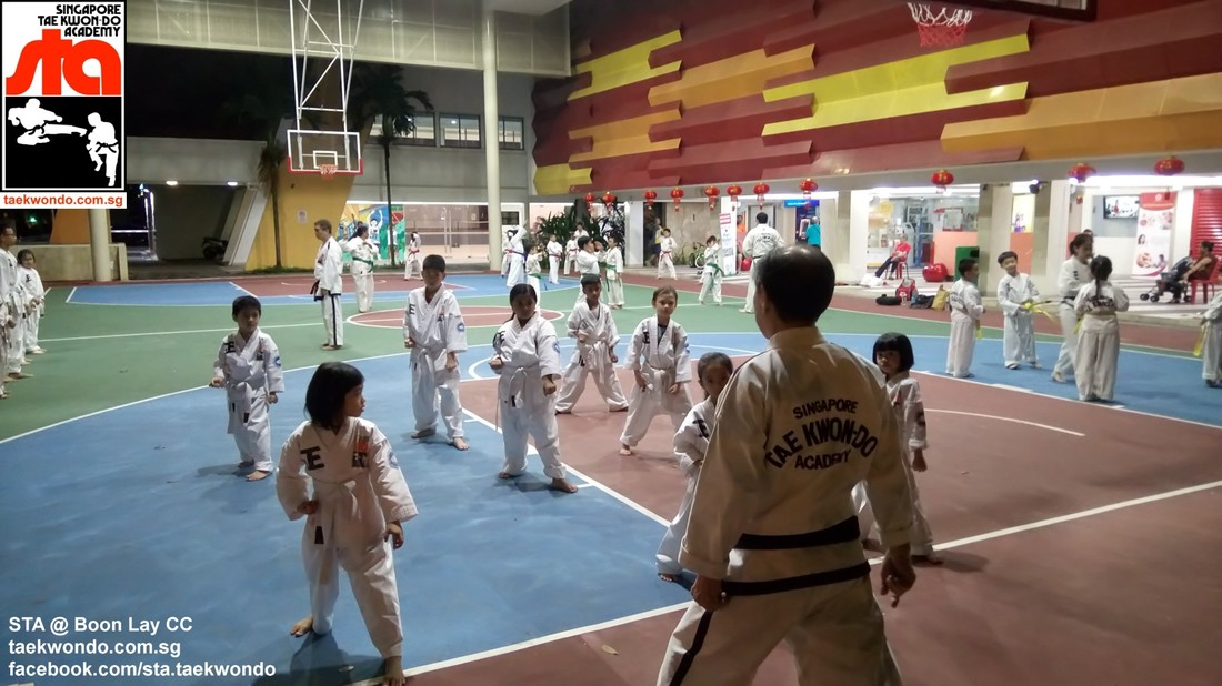 Boon Lay CC Grandmaster Henry Low Singapore Taekwon-do Academy