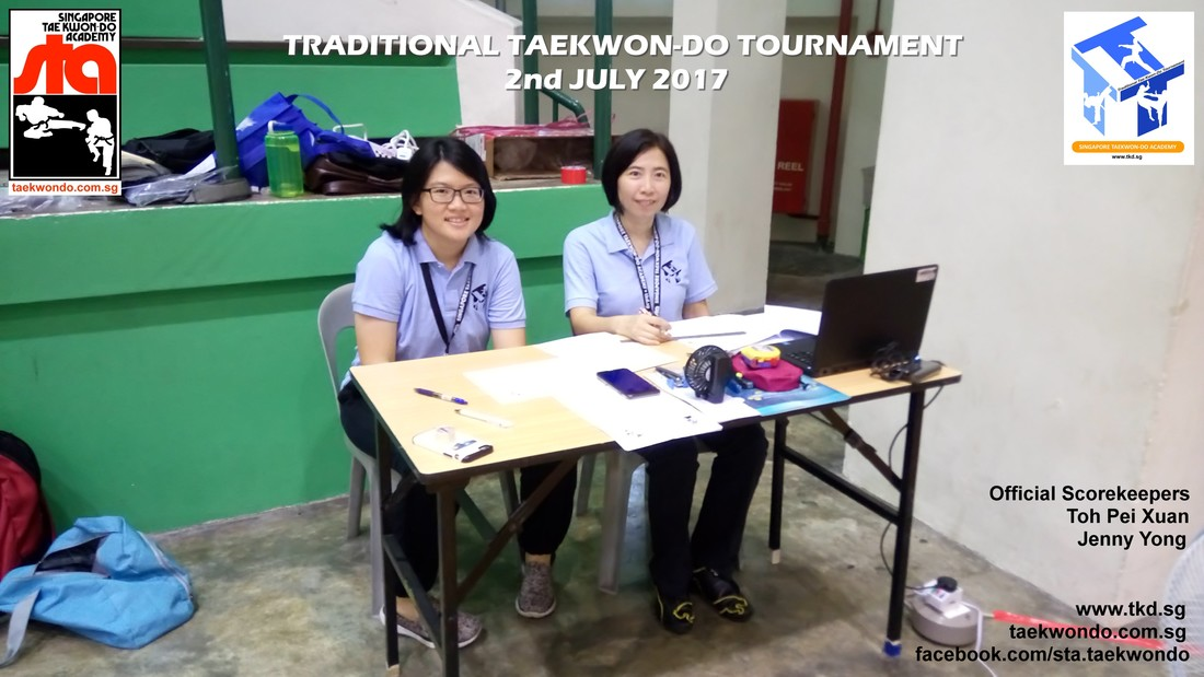Toh Pei Xuan and Jenny Yong, Traditional Taekwon-do Tournament 2017