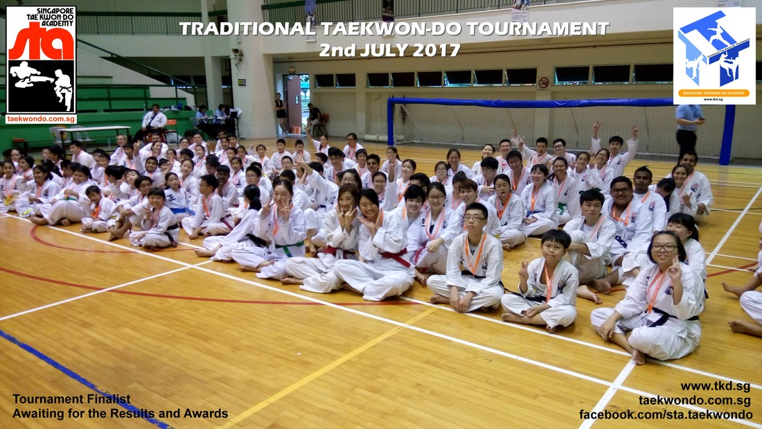 Senior Finalist Awaiting Results, Traditional Taekwon-do Tournament 2017