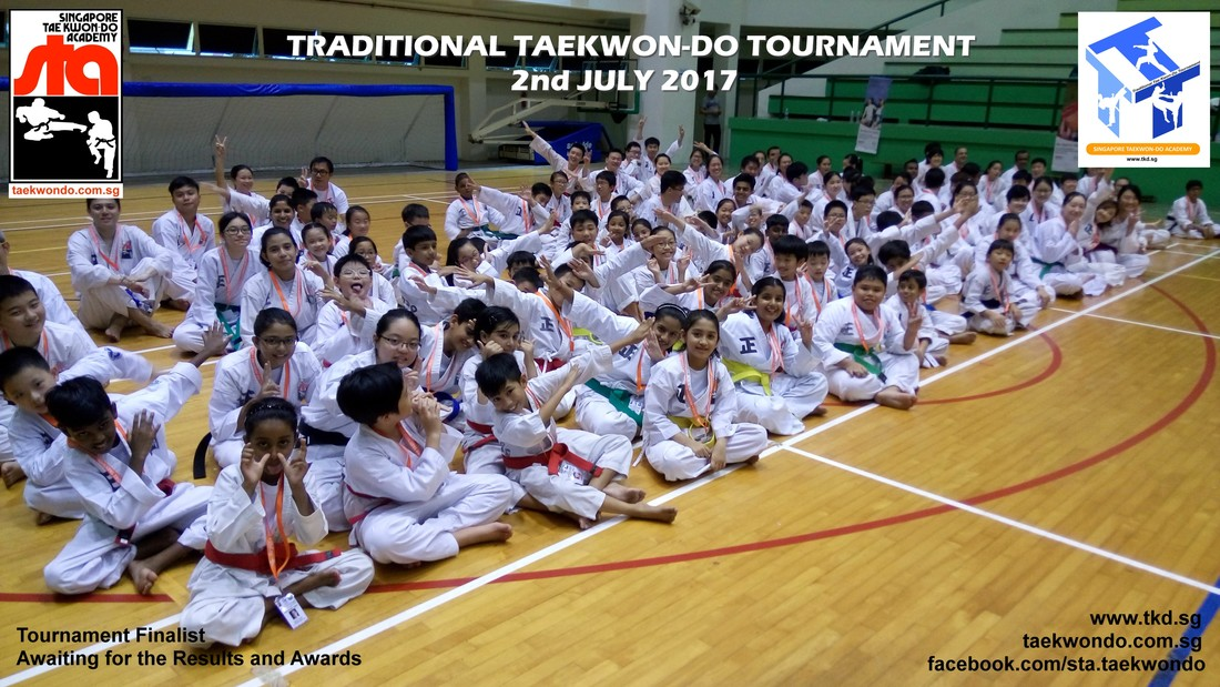 Junior Finalist Awaiting Results, Traditional Taekwon-do Tournament 2017