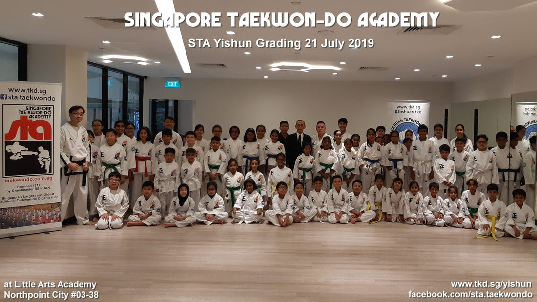 Yishun Northpoint City #03-38 Little Arts Academy STA Grading 21 July 2019 Singapore Taekwondo Academy