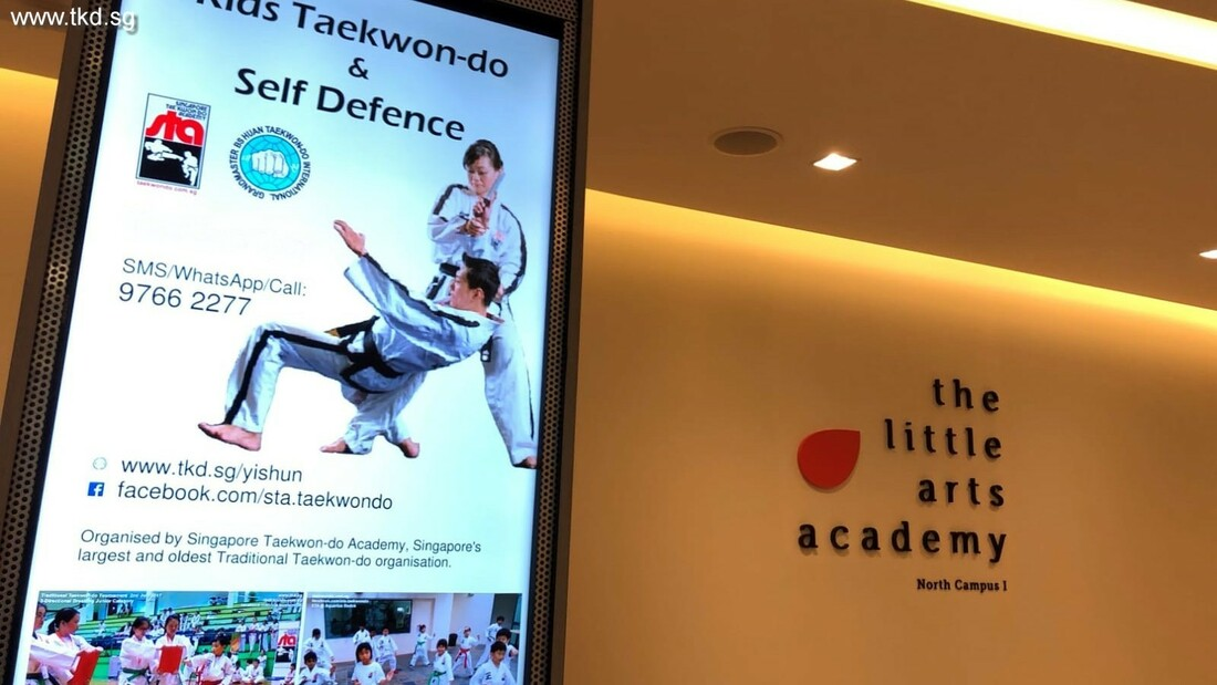 STA Taekwondo Yishun Northpoint City Little Arts Academy Studio Singapore Taekwon-do Academy tkd