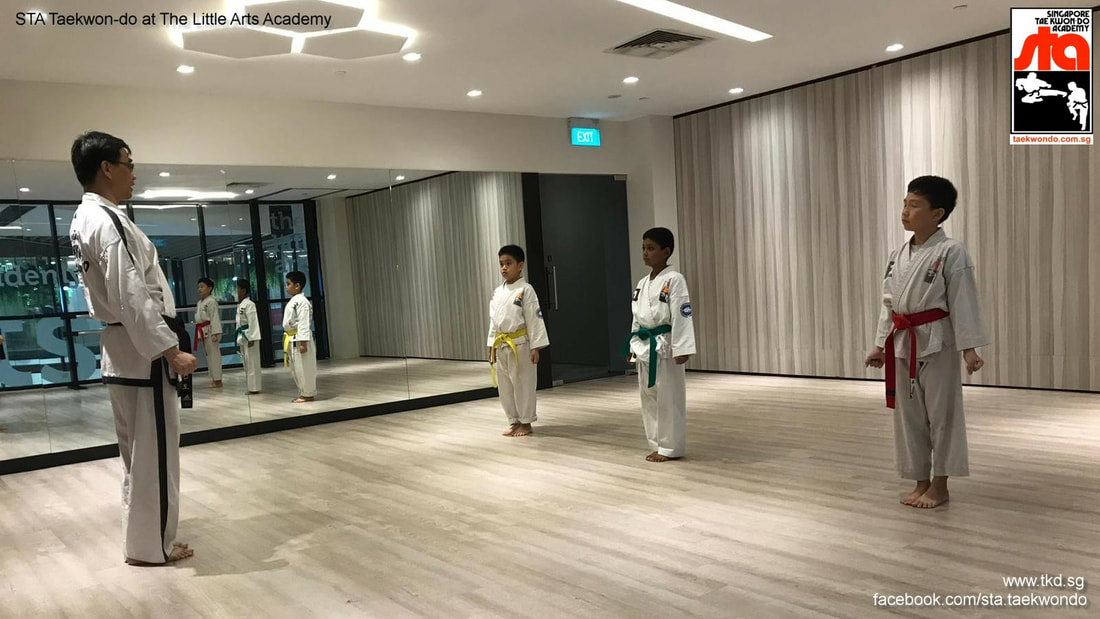 Taekwondo Yishun Northpoint City Little Arts Academy Studio Singapore Taekwon-do Academy TKD Adrian Huan Grandmaster BS Huan School STA